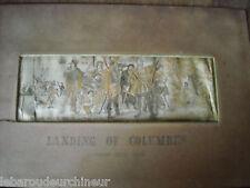 klein Stickerei von der 19emes England England c Columbus