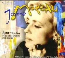 JEANNE MOREAU  pour vous...mes plus belles chansons / DIGIPACK
