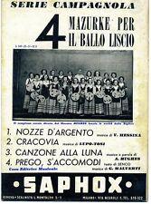 Mazurke Liscio#NOZZE D'ARGENTO-CRACOVIA-CANZONE LUNA-PREGO, S'ACCOMODI # Saphox