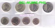 LUXEMBURG 2011- 8 Munten/Monnaies uit de zak/sachet UNC