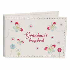 Grandmas Brag 6 x 4 Photograph Book Album Gift FL283G