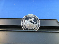 2006-S Silver Quarter South Dakota Deep Cameo Mirror Proof Upper Grading Ranges