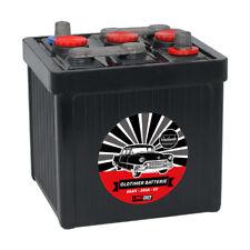 LANGZEIT Oldtimer Autobatterie Batterie 6V 66Ah Starterbatterie 06611 Handarbeit