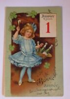 """Neujahr, Kinder, Mode, Sekt, Kalender"" 1904 ♥"