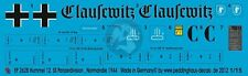 Peddinghaus 1/15 Hummel Clausewitz Markierungen das Reich Frankreich'44 (Bandai) ep2628