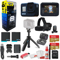 GoPro HERO8 Black Action Camera - Special Bundle, Extra Battery, Shorty + More