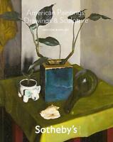 Sotheby's American Paintings Sculpture Auction Catalog April 2011