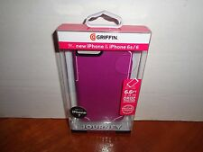 Griffin Survivor Journey Phone Case for Iphone 7 6 6S Sangria/White Brand New