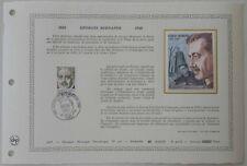 Document Artistique DAP 321 1er jour 1978 Georges Bernanos Ecrivain