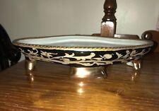 Amita Decorative Bowl Black and Gold