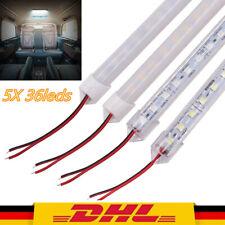 5X 12V LED Streifen Leuchte Röhre Auto Van Lichtleiste Wohnmobil Lampe Lightbar