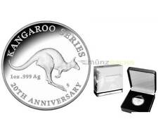 1 $ 20 Jahre Känguru 20th Anniversary Kangaroo Australien 1 oz Silber PP 2013