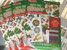 Melissa and Doug  MESS - FREE GLITTER - CHRISTMAS STICKERS