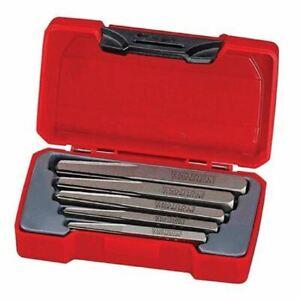 Teng Tools TMSE05S 5 Piece Screw Extractor Set