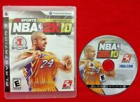 NBA 2K10 1999-2009 Tenth Anniversary Sony PlayStation 3 PS3  Kobe Bryant Rare