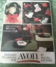 Avon pattern by McCall for 10 Holiday Craft Designs with Instructions