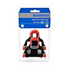 Shimano SM-SH10 sin Clip Spd-Sl Tacos Pedales Zero Grados Flotar - Rojo