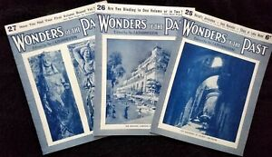 Wonders of the Past. Magazines 25, 26 & 27 by Sir JA Hammerton 1934 Paperback