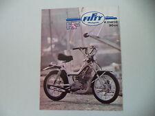 advertising Pubblicità 1976 MALAGUTI FIFTY HF 50