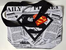 "Superman DAILY PLANET / METROPOLIS ZIPPER BAG 11"" x 13.5"" x 4""  Brand New w TAGS"