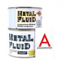 Metal Fluid METALLO BIANCO Prochima 1 kg - Per colate a freddo no fusione Bicomp