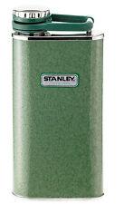 Stanley Classic Flachmann Taschenflasche 236 ml Edelstahl Hammertone grün 625600