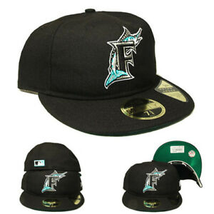 New Era Florida Marlins Fitted Hat Retro Crown Relaxed Heritage 1930~1940 Cap