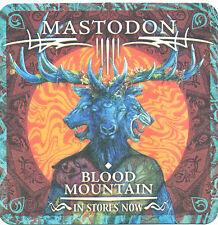 Mastodon Blood Mountain RARE promo coasters (2) '06