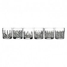 Waterford Crystal HERITAGE Set of SIX 6 Straight Sided Tumblers Glasses New