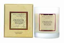 Wax Lyrical Fragrant Escapes Wax Filled Glass Oriental Wood Boxed Candle