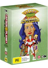CAPTAIN PLANET & THE PLANETEERS COMPLETE [PAL REGION 4,NON USA FORMAT] (18 DVD)