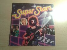 Super Stars 1983 Sammelalbum Ferrero Sticker duplo Hanuta 12 Bilder alt selten