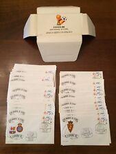 Espana 82, Copa mundial de Futbol - Collezione 52 buste con timbro commemorativo