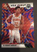 2020 Panini Mosaic Basketball Deandre Hunter Blue & Pink Prizm & Base 7 Card Lot