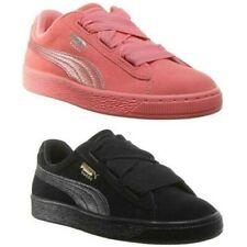 Puma Ante Corazón Jóvenes Zapatillas de Ante Color Talla UK 3-7