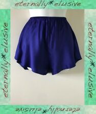 SULIS Pure Silk Midnight Blue French Knickers Panties Lingerie Size XL !NOTNEW!