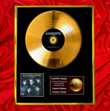 More details for europe out of this world  cd gold disc vinyl record  free shipping to u.k.