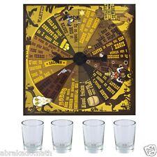 JEU D ALCOOL ROULETTE INFERNALE 4 VERRES + PLATEAU DRINKING GAME AMBIANCE FETE