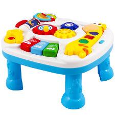 Baby Spieltisch Musikalisches Spielzenter Babyspielzeug BLAU KP6428 NEU