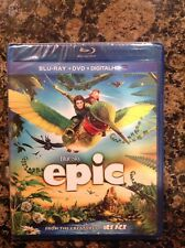 Epic (Blu-ray/DVD,2013,2-Disc,Digital Copy; UltraViolet)New Authentic US Release