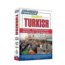 PIMSLEUR Learn to Speak TURKISH Language 5 CDs NEW!