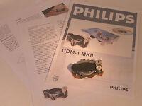 PHILIPS CDM-1 MKII MK2 Laser