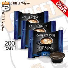 200 Capsule Caffè Borbone Don Carlo Miscela Blu compatibili a Modo Mio gratis