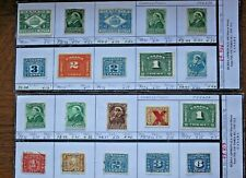 CANADA Tax Stamps - Interesting Lot of 20 Stamps (Lot #11)