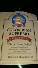 5 LBS FRESH ROASTED COLOMBIAN SUPREMO HUILA 100% ARABICA COFFEE BEANS