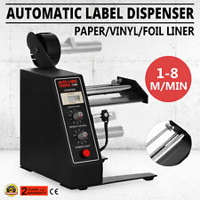 AUTO LABEL DISPENSER STRIPPER SEPARATING MACHINE AUTOMATIC ELECTRIC DISPENSING
