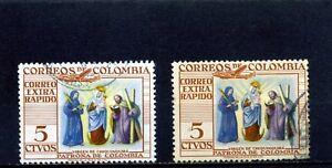 ''VIRGIN DE CHIQUINQUIRA'', -BOYACA- COLOMBIA,- colors  1953/54