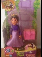 NEW FISHER PRICE Dora The Explorer Magical Castle POSABLE QUEEN MAMI Doll Figure