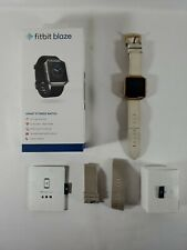 Fitbit Blaze Smart Fitness Watch & Tracker with Charger and 2 Wristbands- TESTED