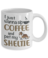 SHELTIE ( SHETLAND SHEEPDOG) COFFEE MUG, SHELTIE COFFEE MUG, SHELTIE DOG MUG